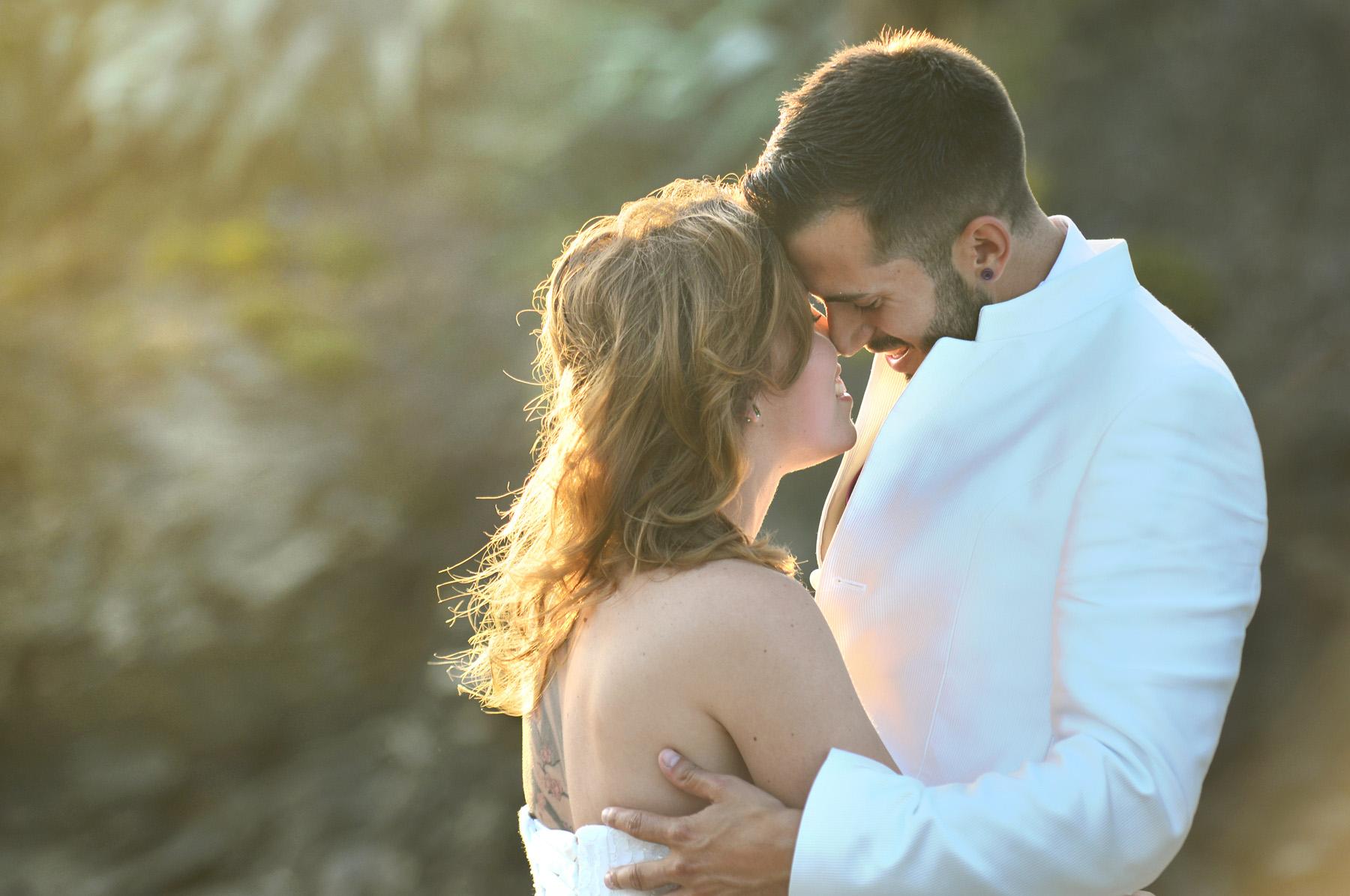 romantic wedding photos marbella