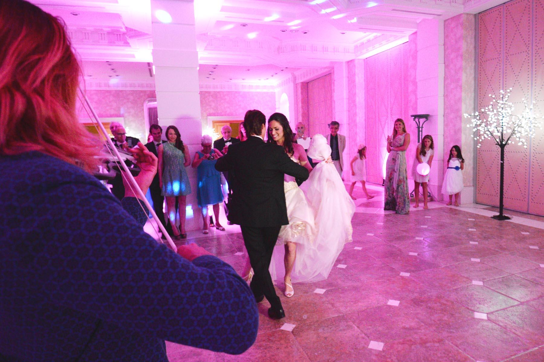Villa Padierna Palace wedding dace