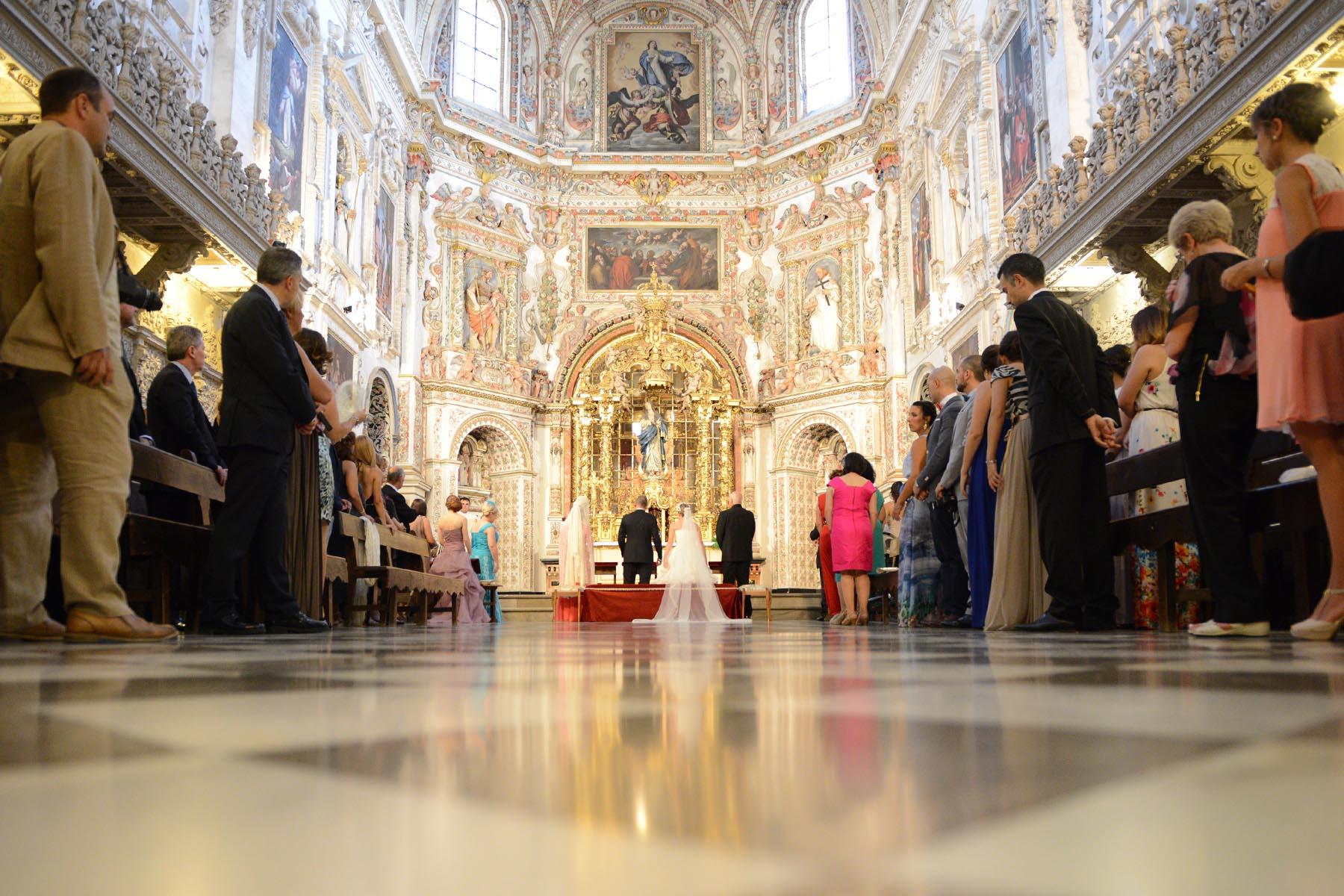 granada la cartuja ceremony wedding