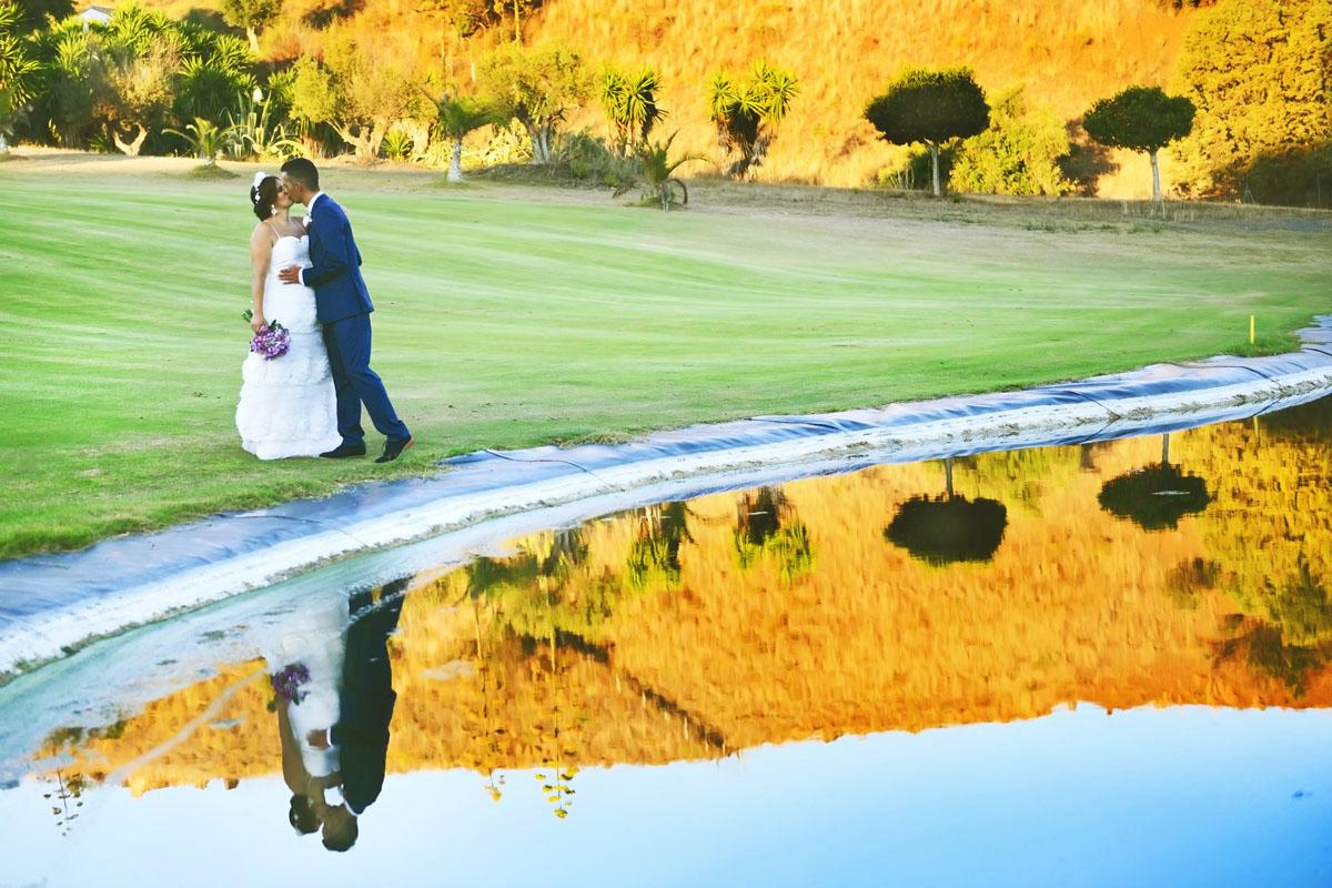 wedding videographer golf
