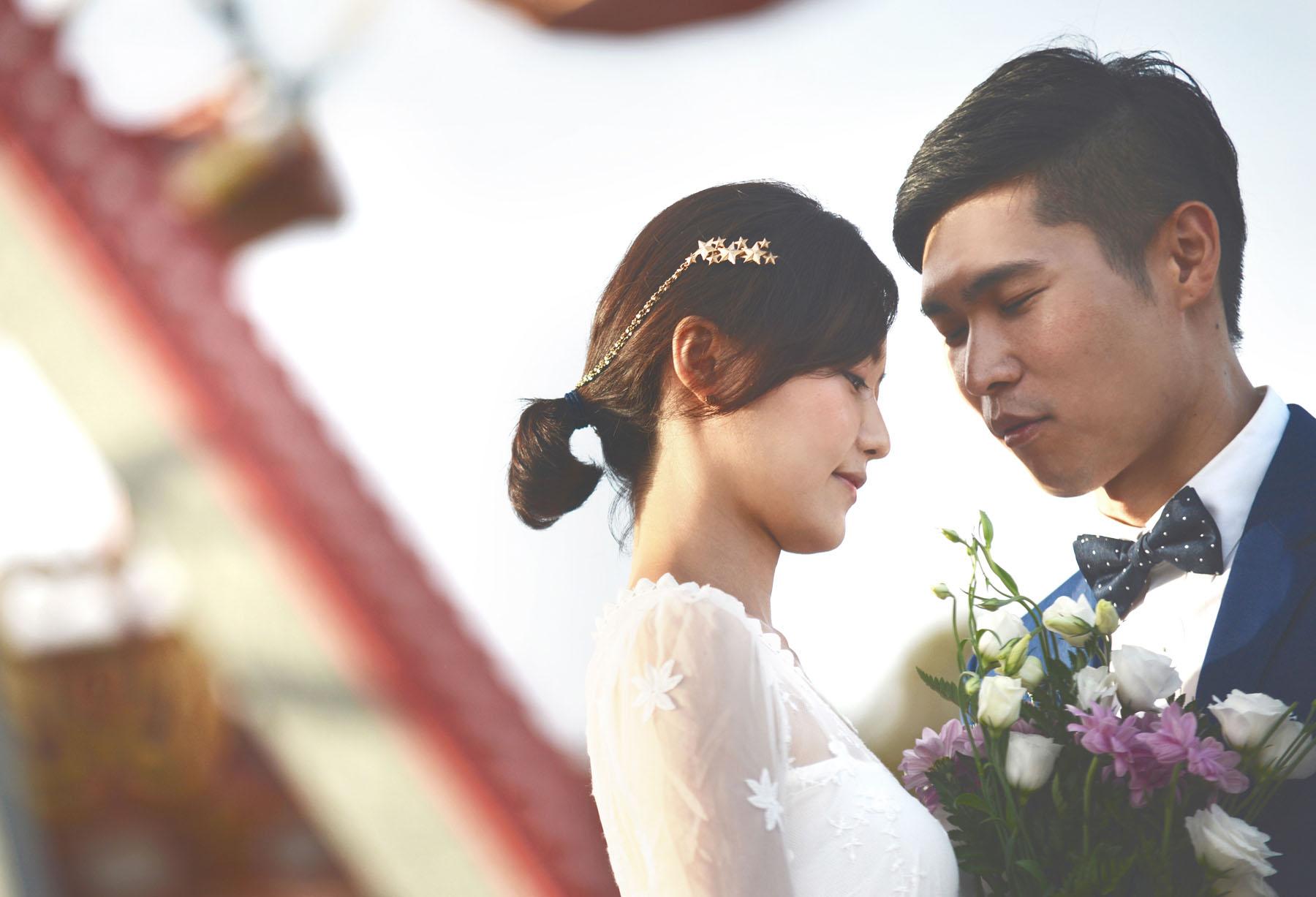 Korean wedding photos