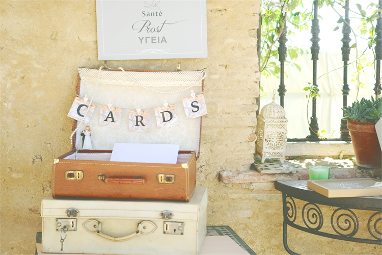vintage wedding case marbella