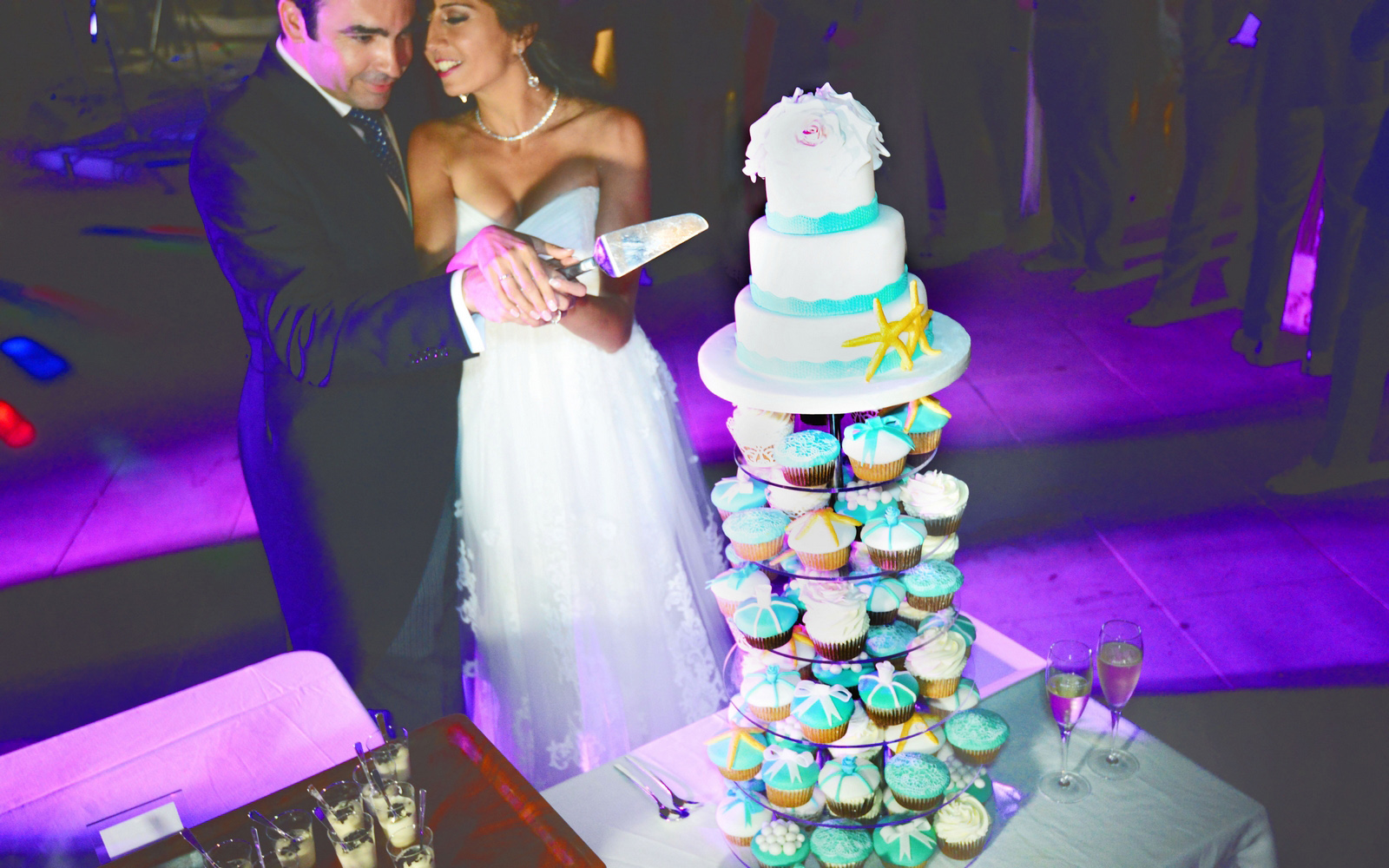 cake photos wedding marbella