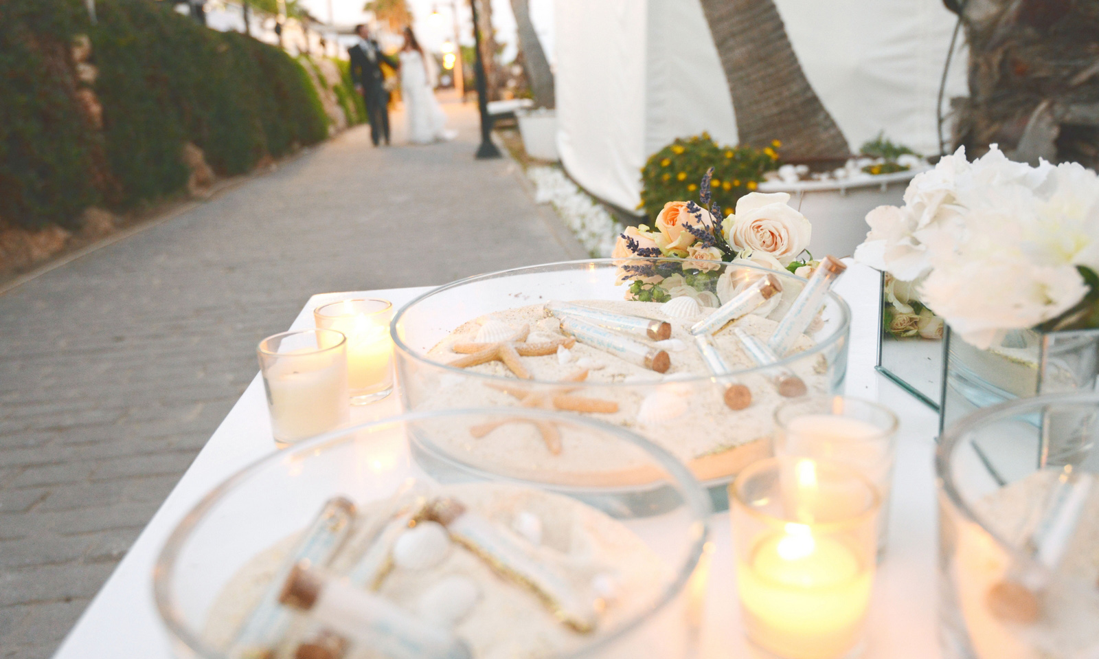puro beach cocktail wedding photos