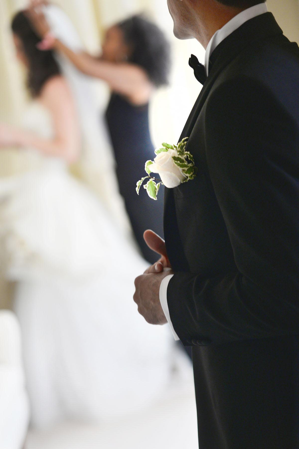 Villa Padierna Palace bride wedding photos
