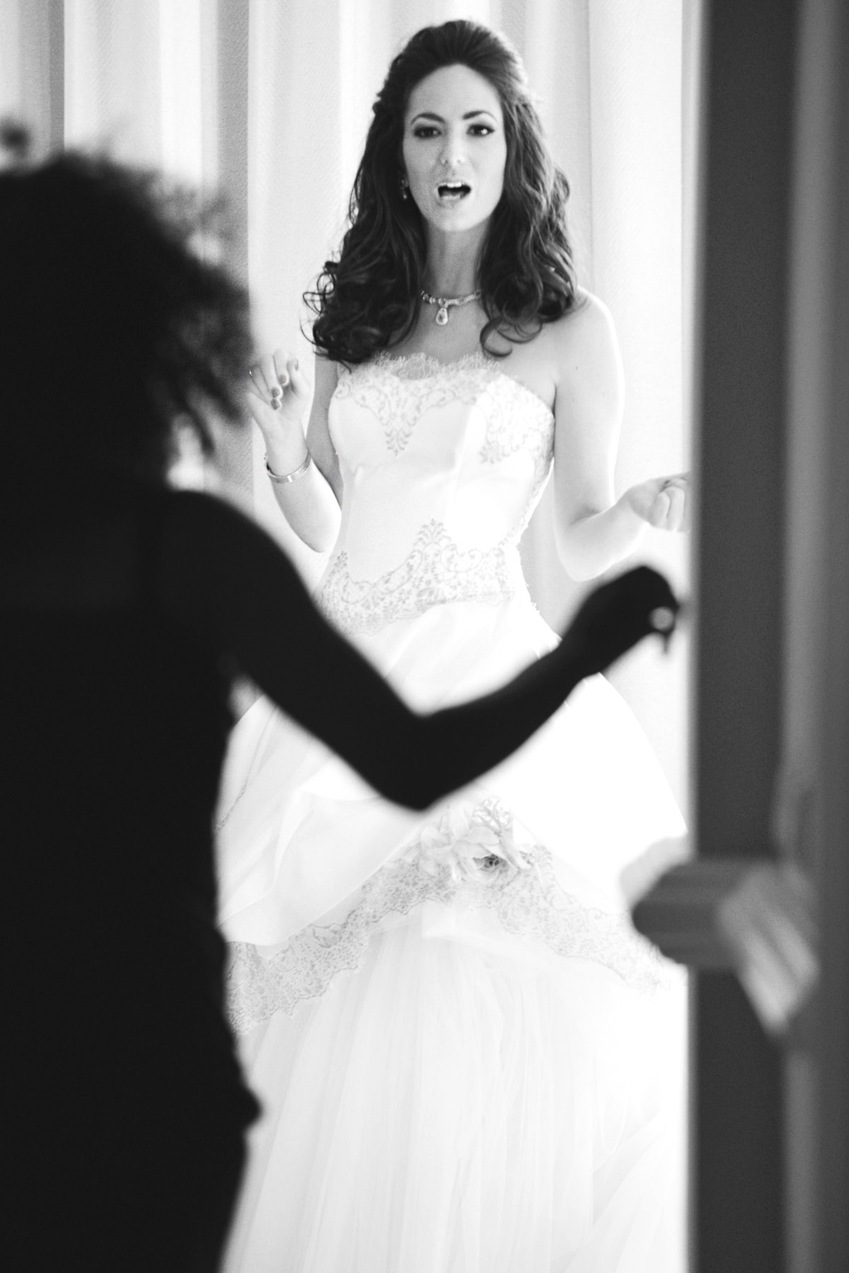 Villa Padierna Palace wedding bride