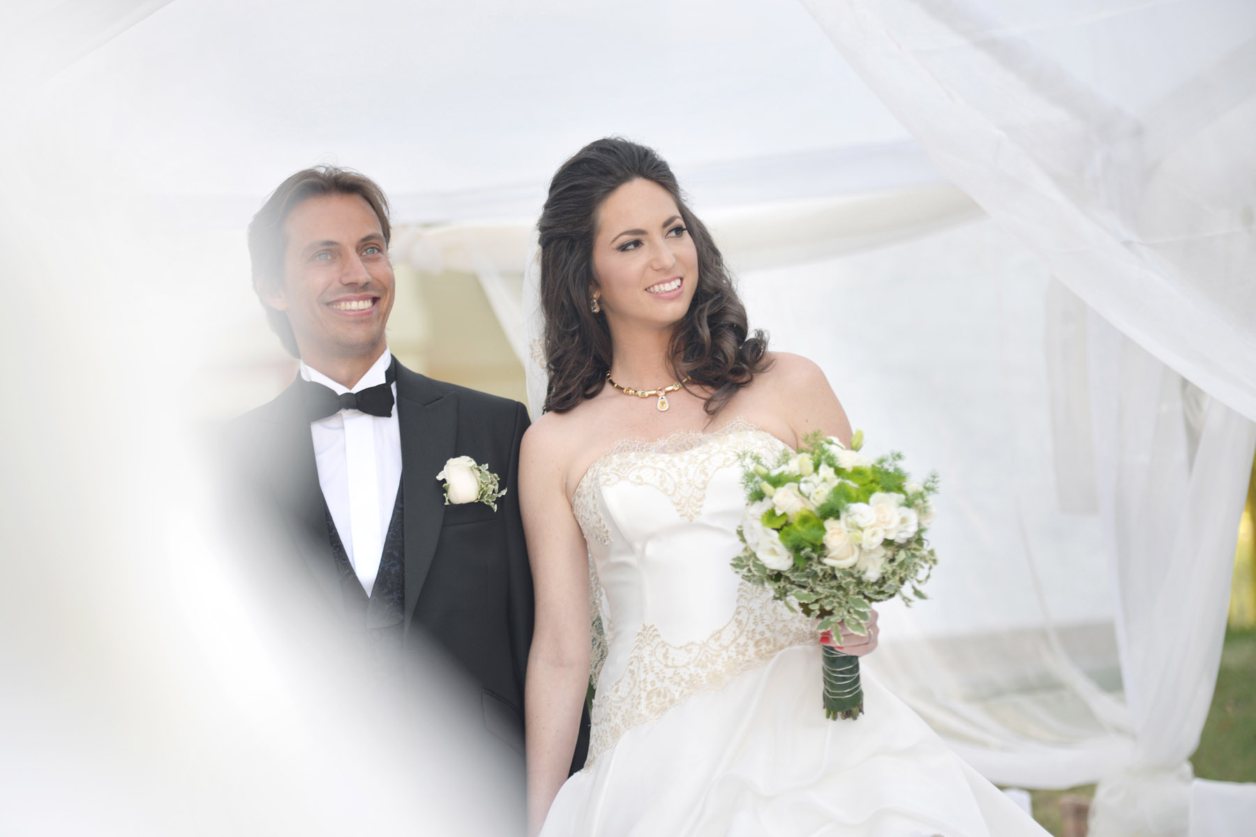 Villa Padierna Palace wedding ceremony