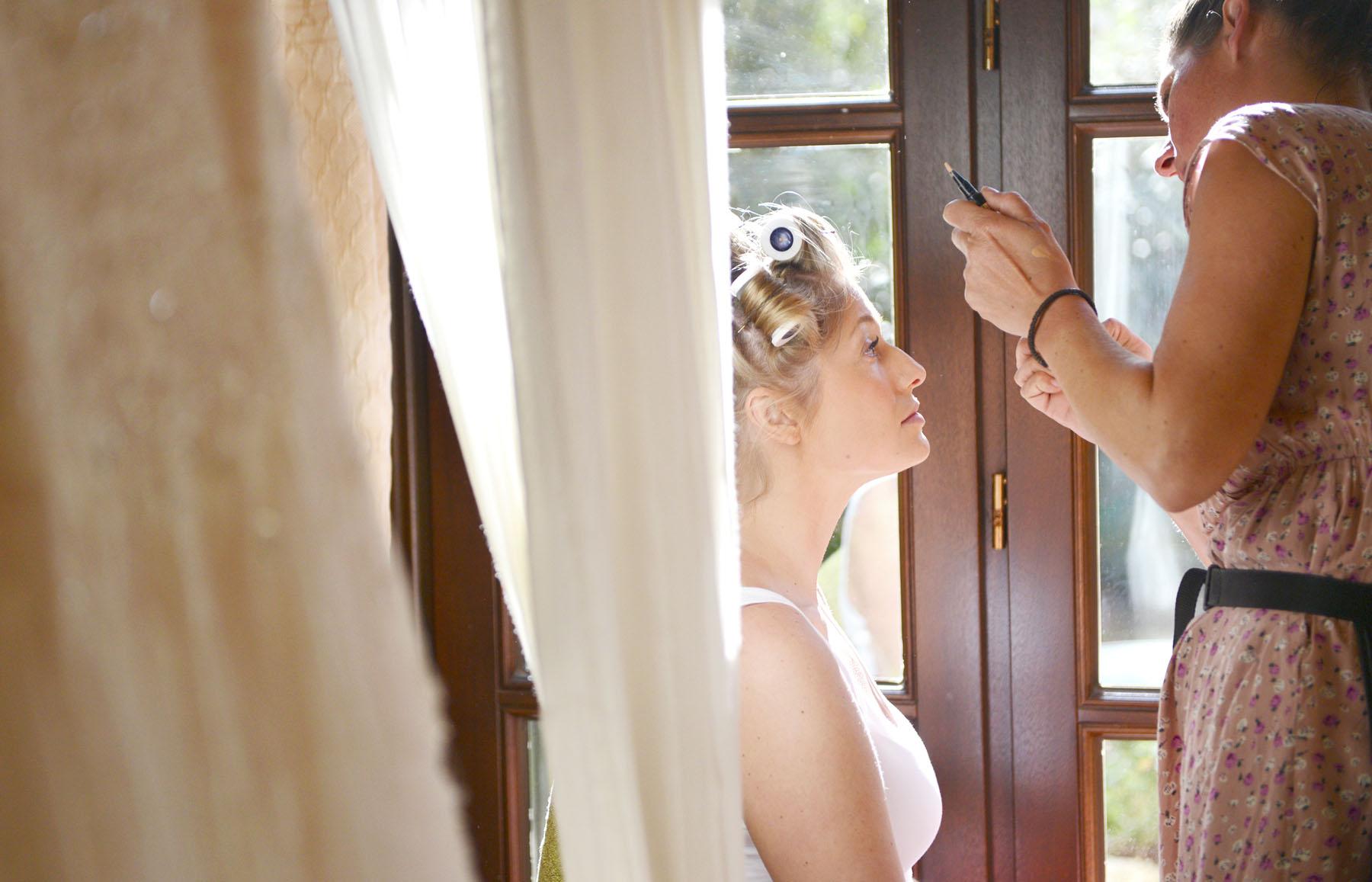 hotel monasterio de san martin bride preparation