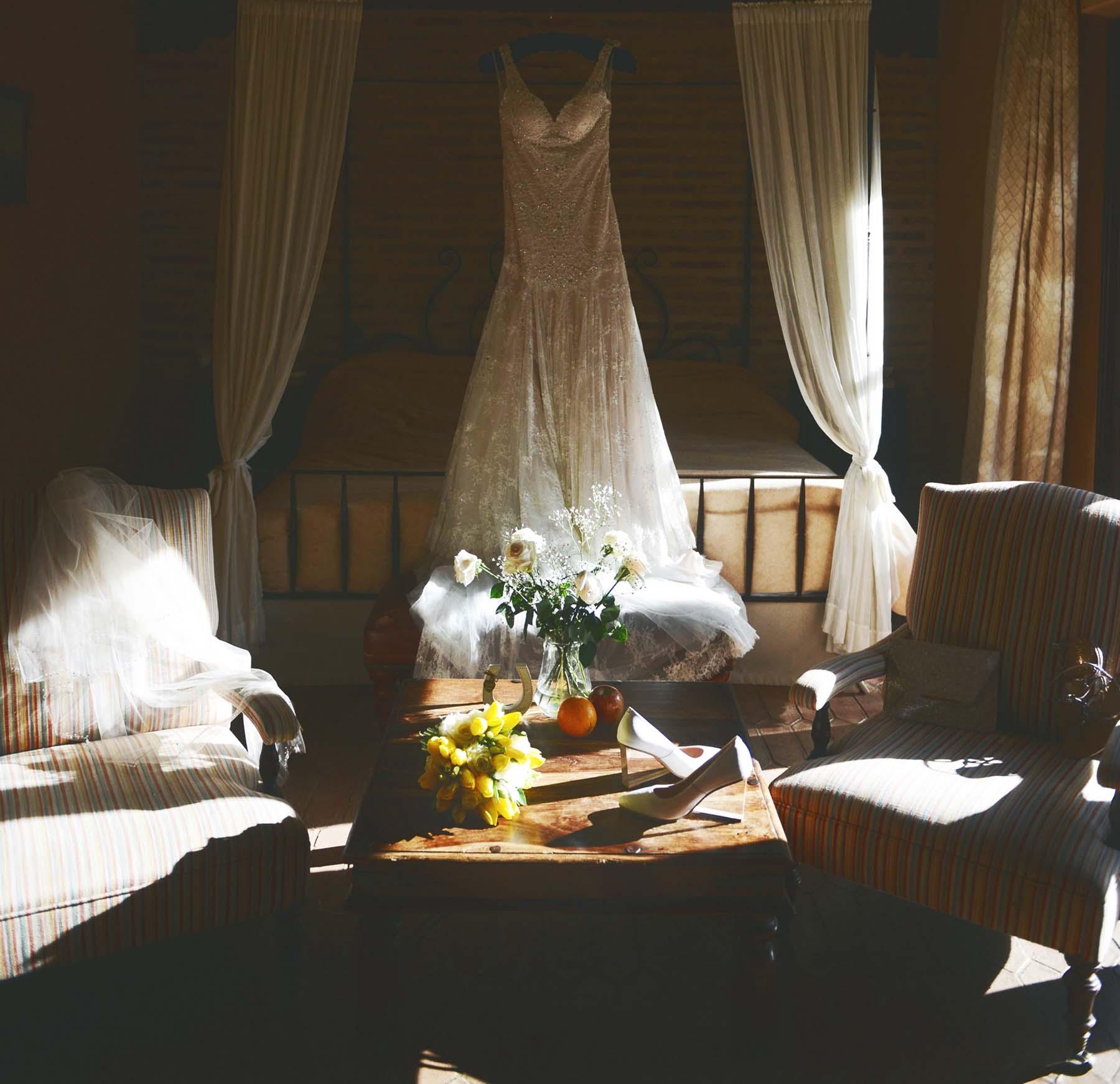 hotel monasterio de san martin bride room