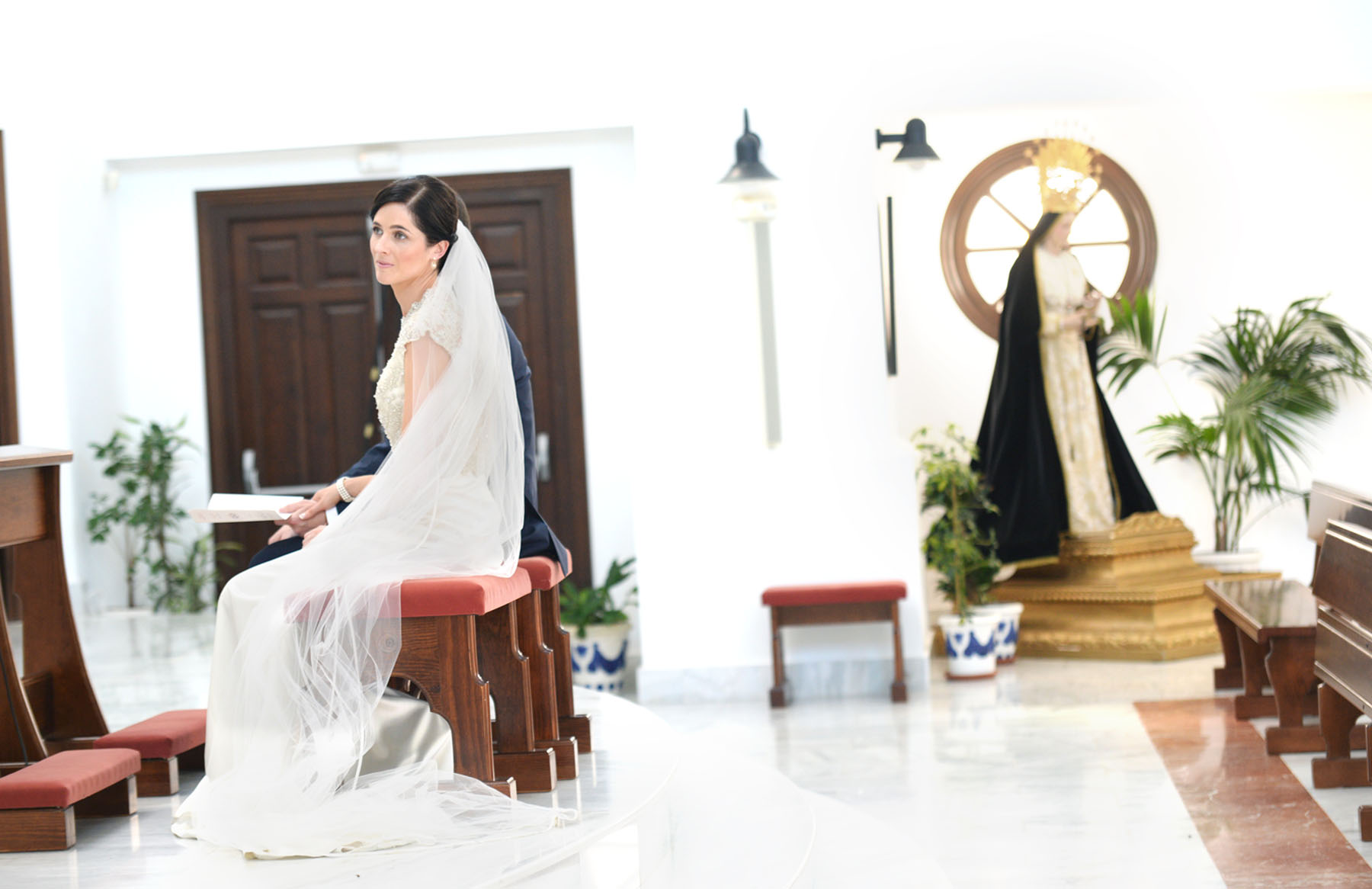benahavis church wedding photos