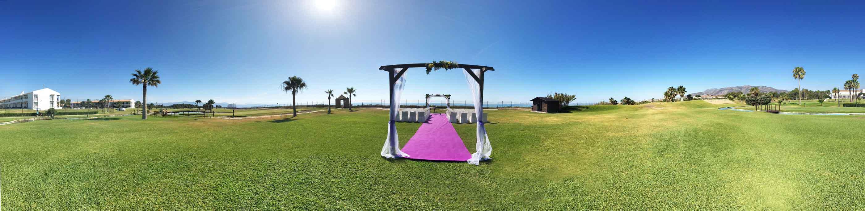 parador golf malaga weddings